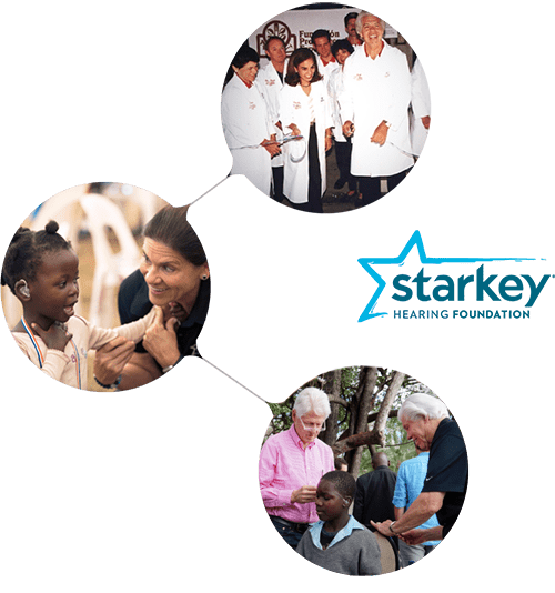 Starkey Hearing Foundation mission